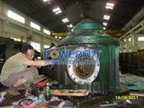 配套铜管设备D20I倒立式圆盘拉伸机1