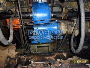 配套硫化机-125和250双极平面二次包络环面蜗杆减速器